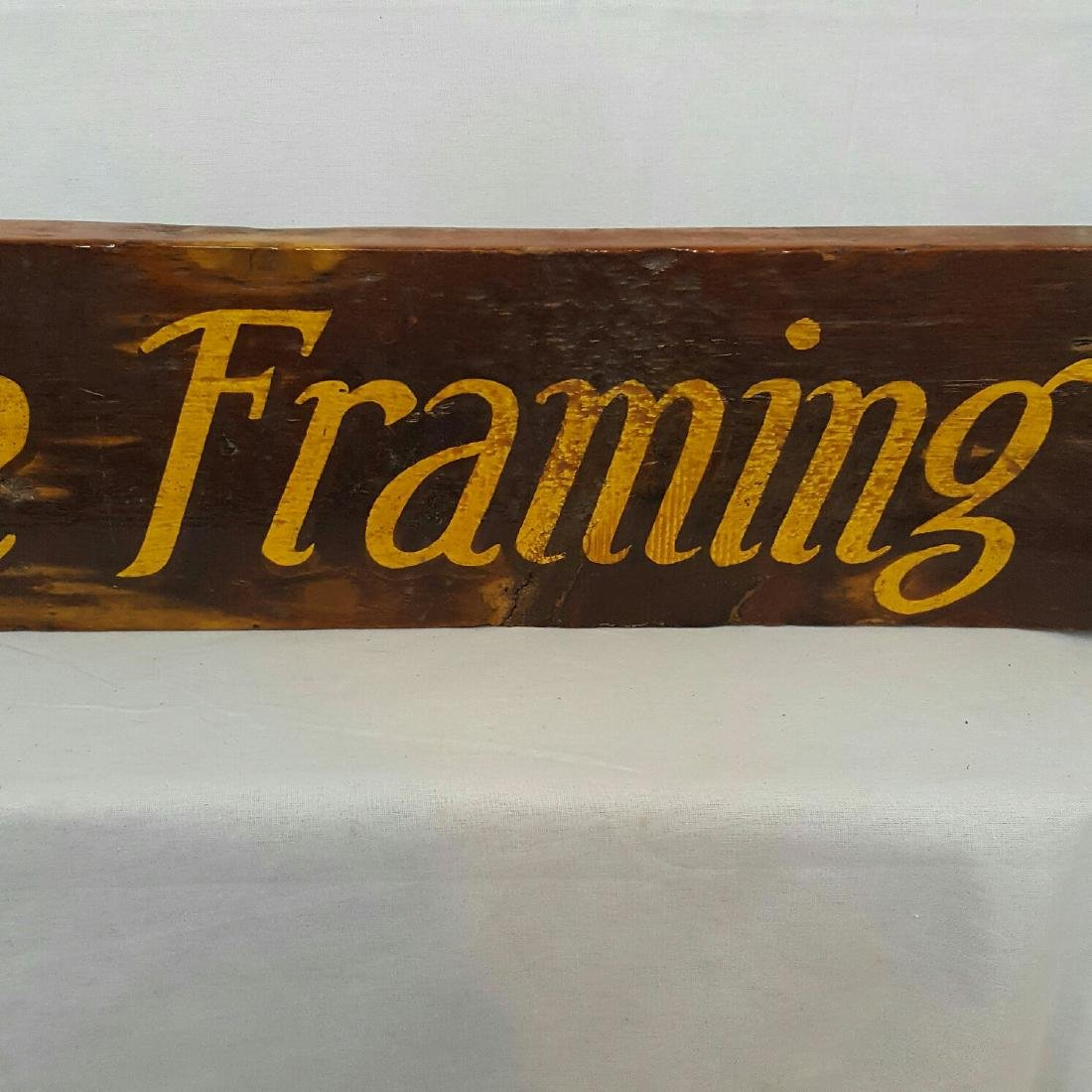 Picture Framing Sign - 9