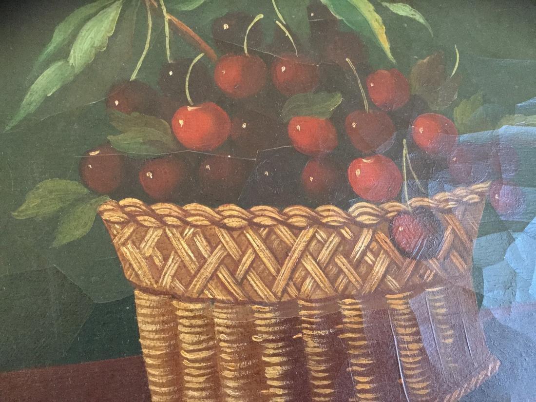 Still-Life of Cherry Basket - 2