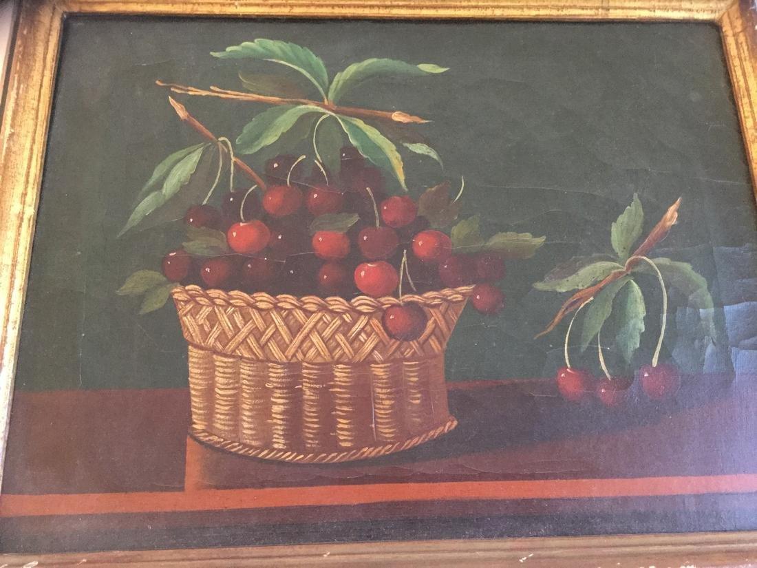 Still-Life of Cherry Basket - 3
