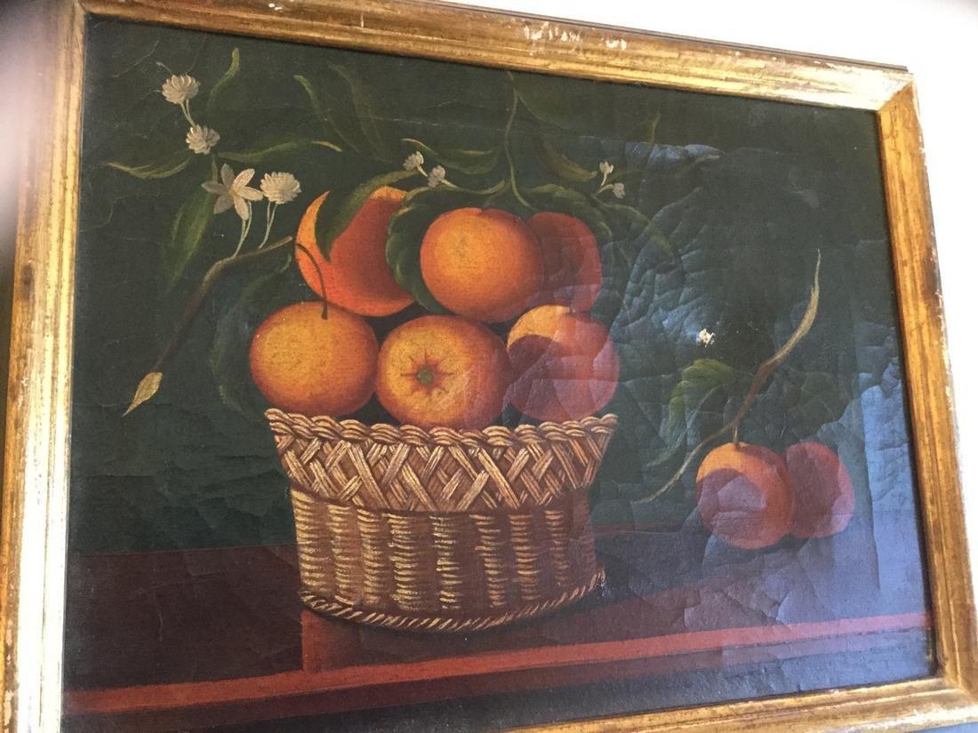 Still-Life of Orange Basket - 4