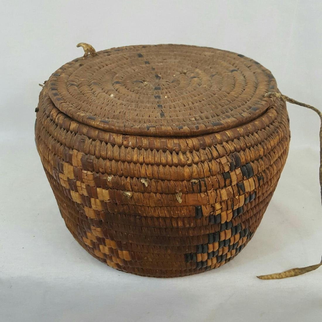 Salish Frazier River Native American Basket - 2