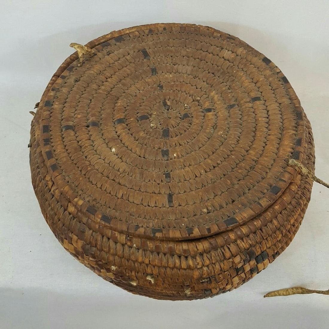 Salish Frazier River Native American Basket - 3