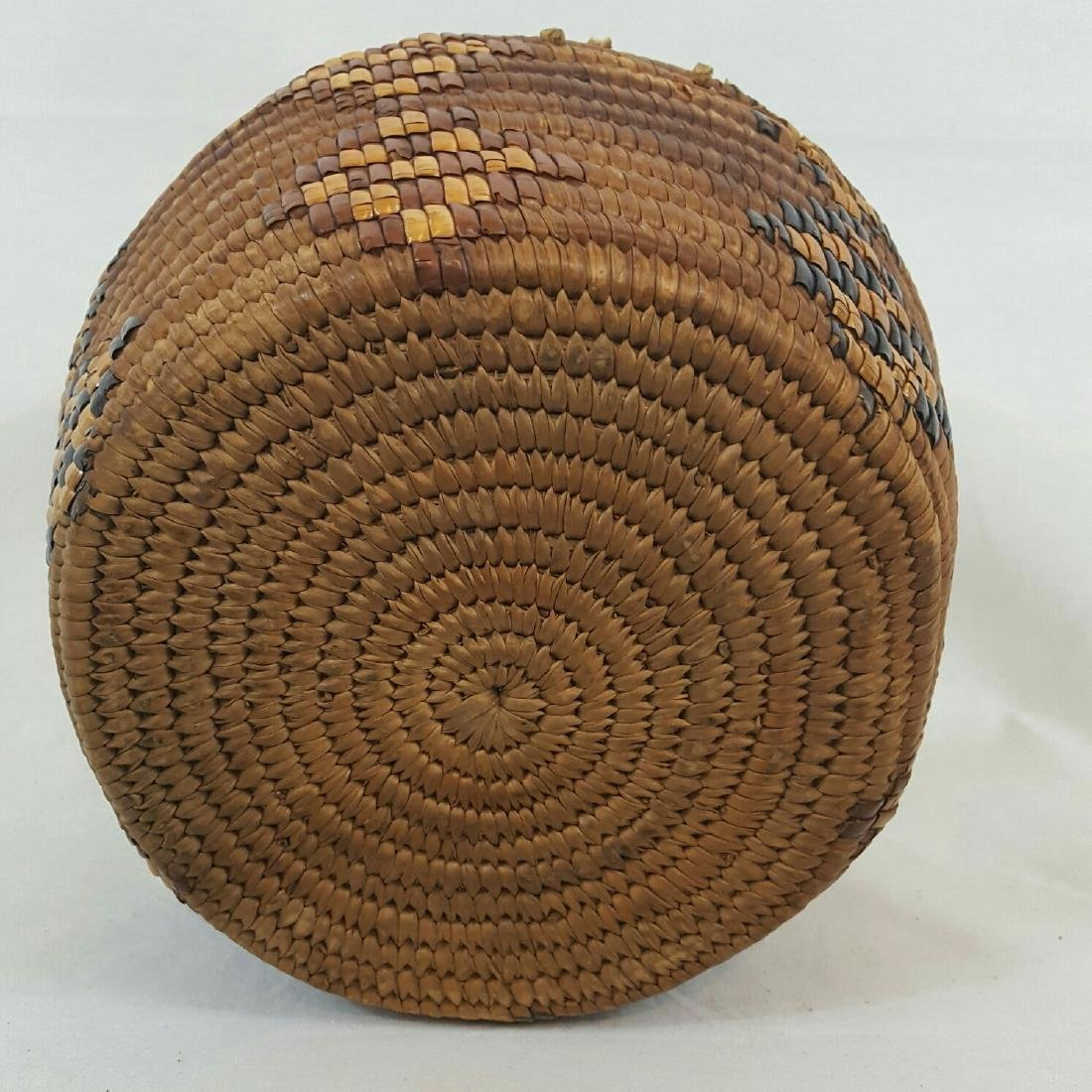 Salish Frazier River Native American Basket - 4