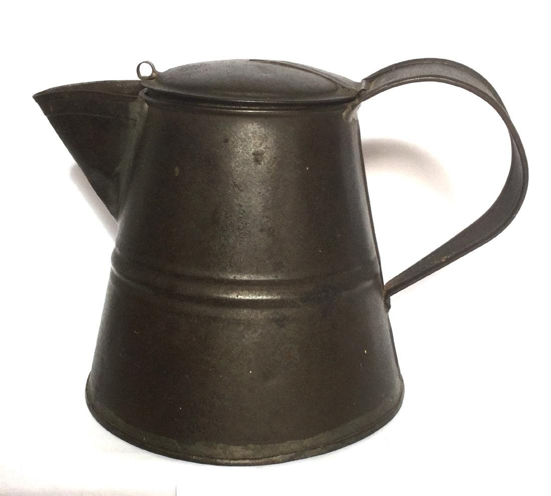 Tin Smith Made Teapot