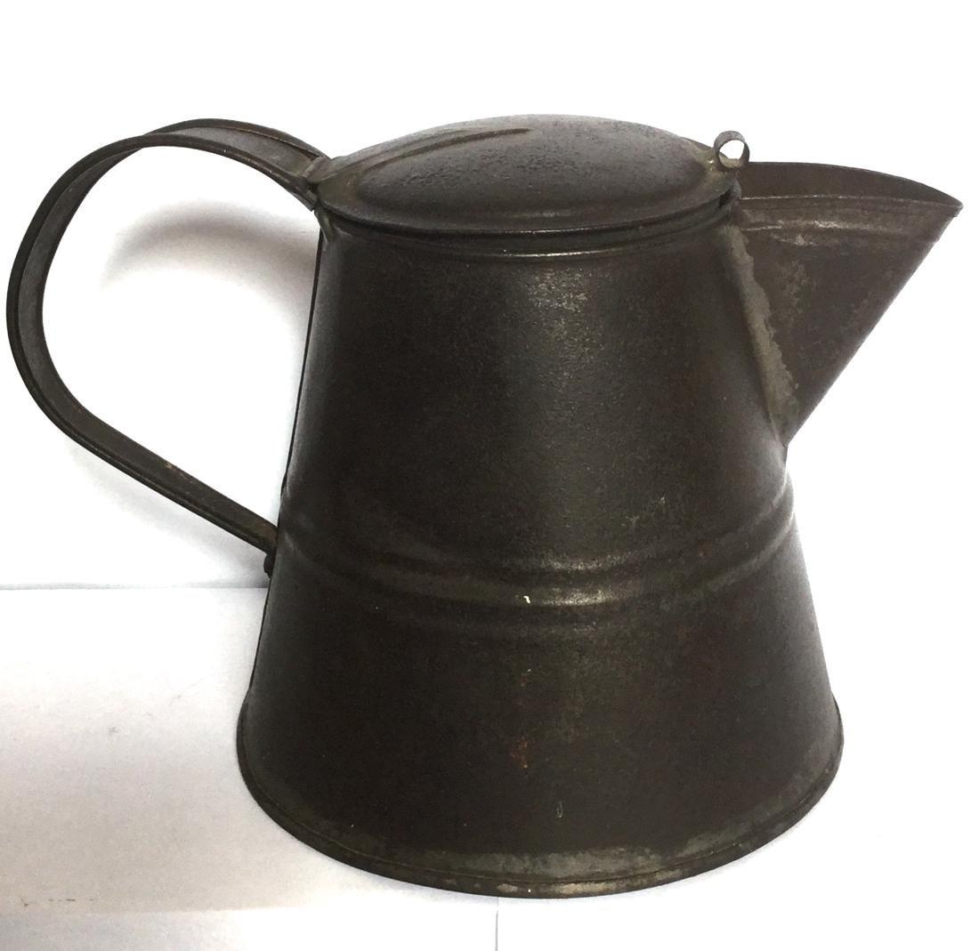 Tin Smith Made Teapot - 2