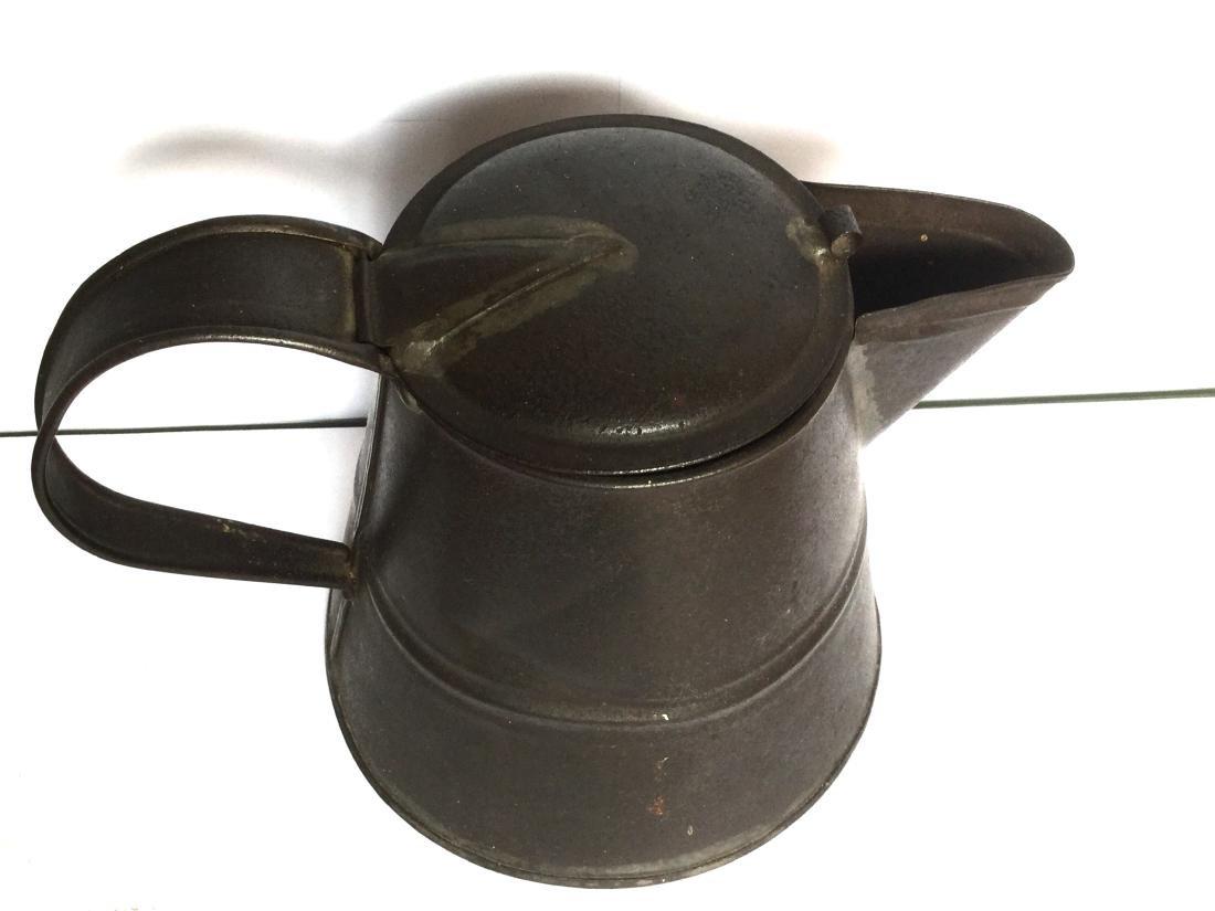 Tin Smith Made Teapot - 3