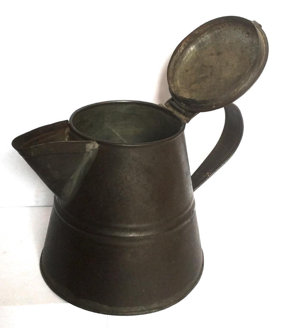 Tin Smith Made Teapot - 4