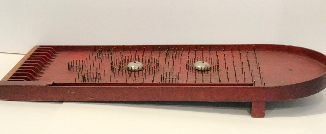 Home-made Wood Pin-Ball Gameboard - 3