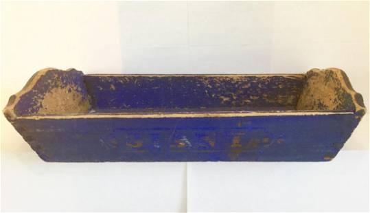 Vibrant Blue Table Box