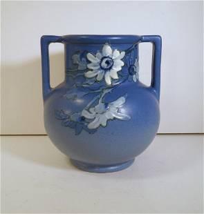 Weller Art Pottery Hudson Blue Vase