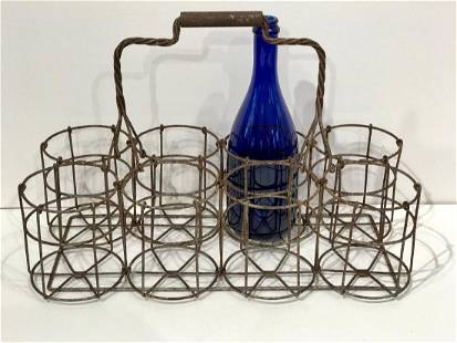Wire Bottle Tote