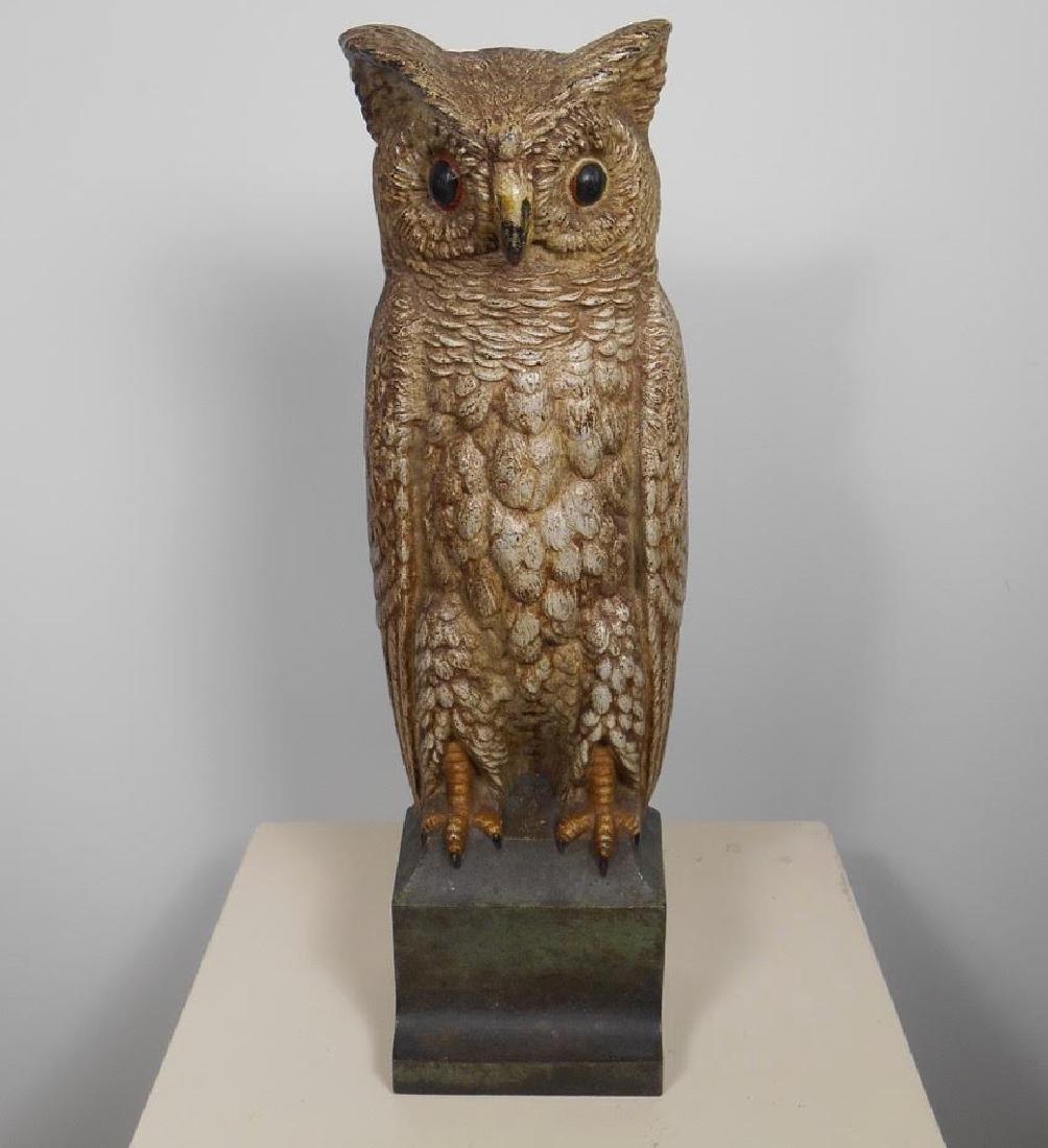 Bradley & Hubbard Owl Doorstop