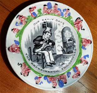 """Child's Plate """"Early Days"""""""