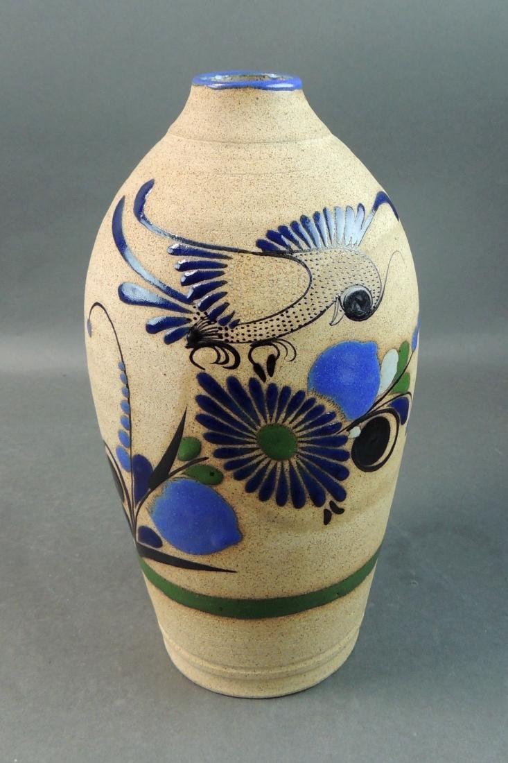 Tonala Mexican Hand Thrown Vase