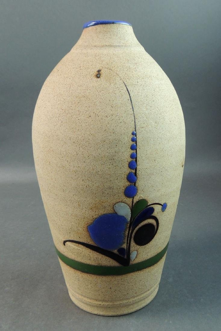 Tonala Mexican Hand Thrown Vase - 4