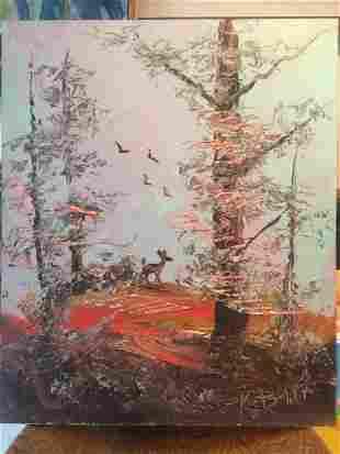 Morris Katz: Setting Sun, 1984