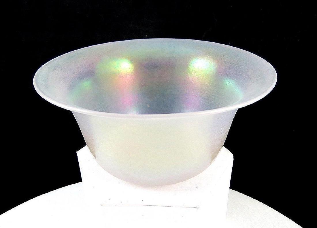 Steuben Aurene Iridescent Bowl