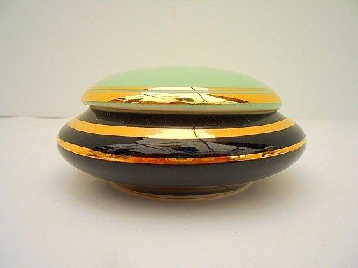 French Mid Century Porcelain Ballet Theme Trinket Box - 2