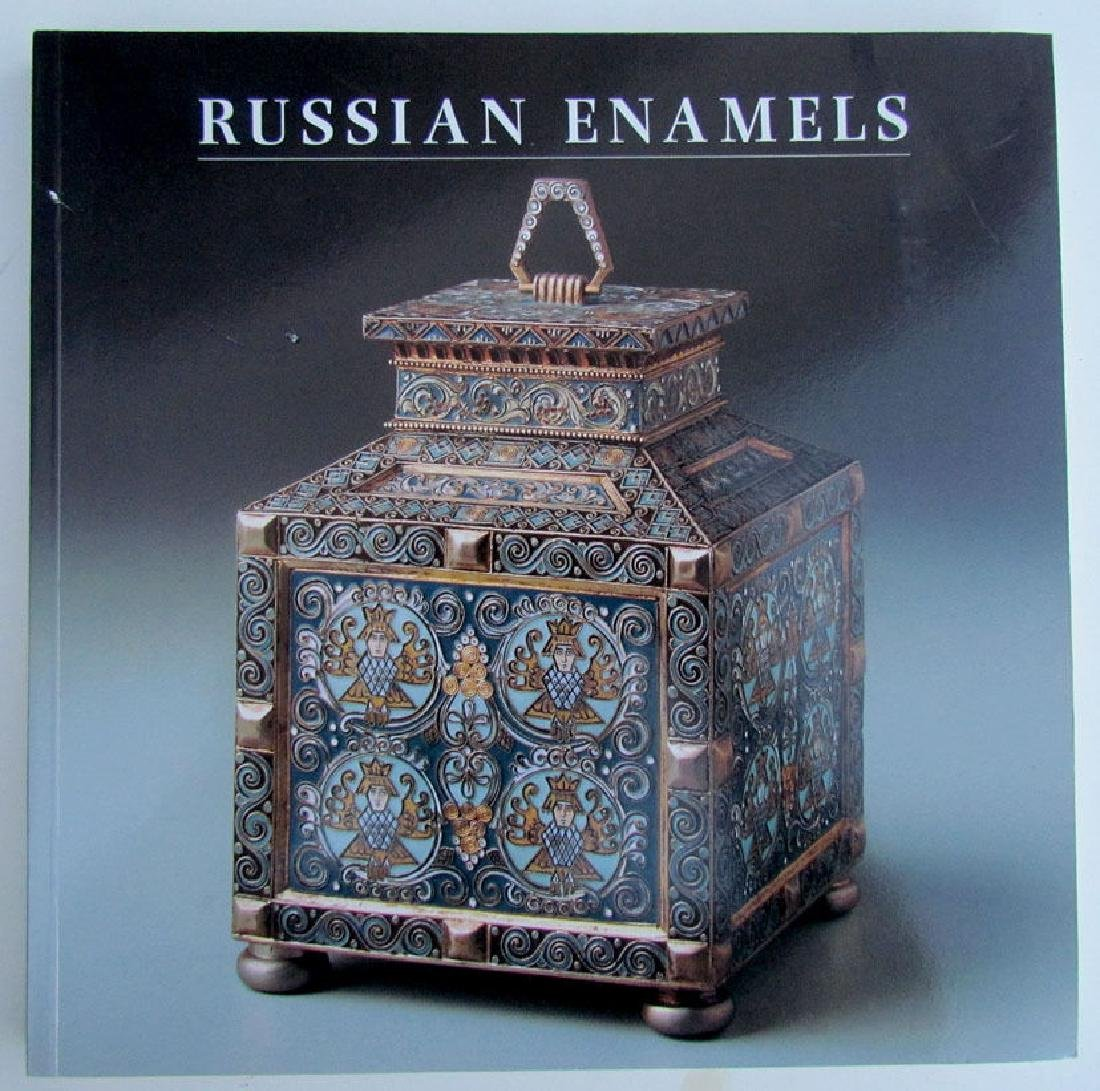 1996 Illustrated Reference Catalog on Russian Enamels