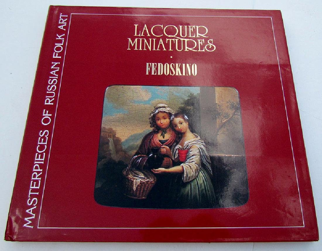 Russian Lacquer Painting School Fedoskino Ref Book