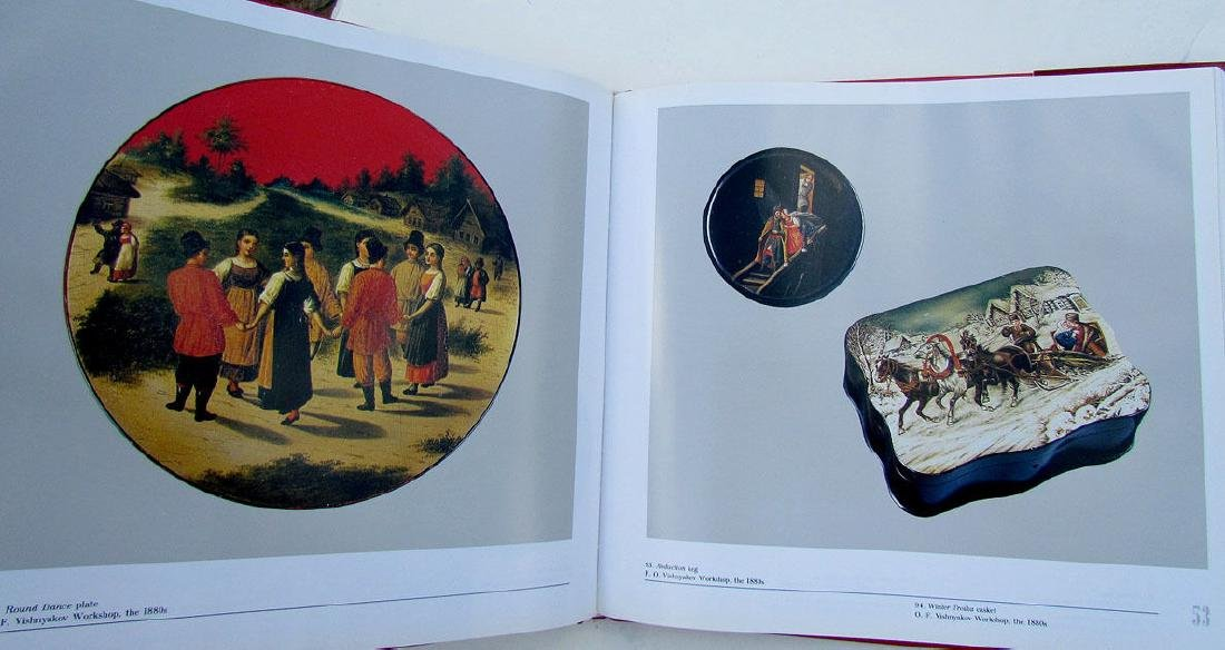 Russian Lacquer Painting School Fedoskino Ref Book - 2