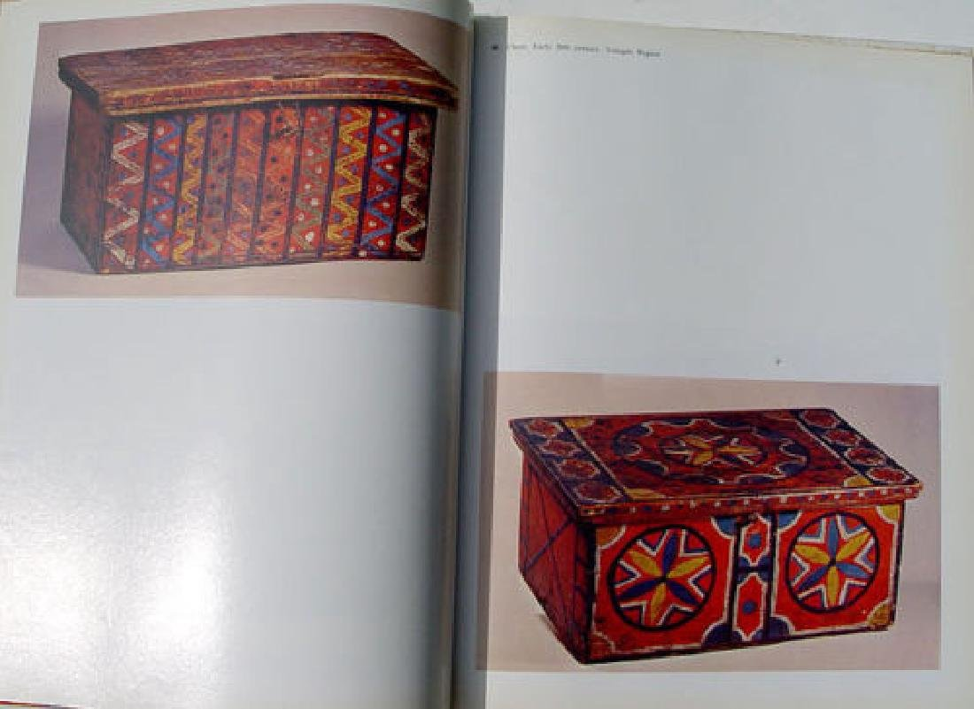 Traditional Russian Carved & Painted Woodwork Art Book - 7