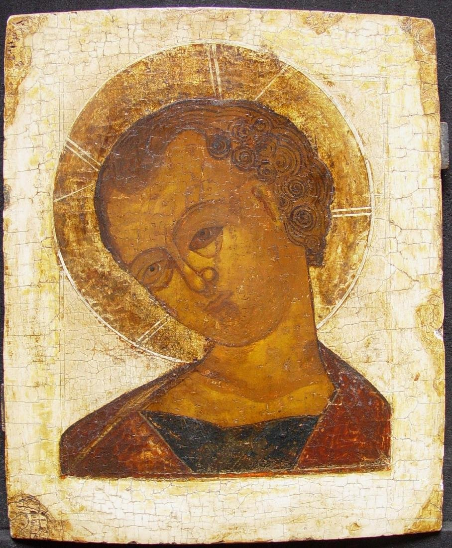Christ Immanuel Russian Icon, 17th C