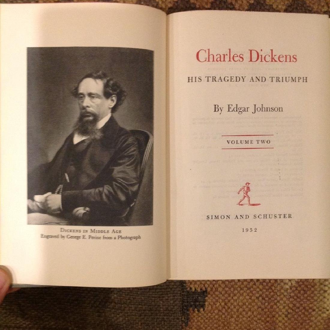 Charles Dickens: His Tragedy & Triumph, 2 Vol 1st Ed - 5