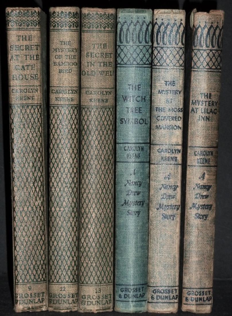 Nancy Drew And Dana Girls Set, 6 Volumes