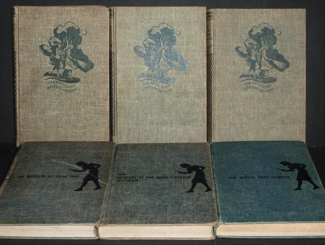 Nancy Drew And Dana Girls Set, 6 Volumes - 2