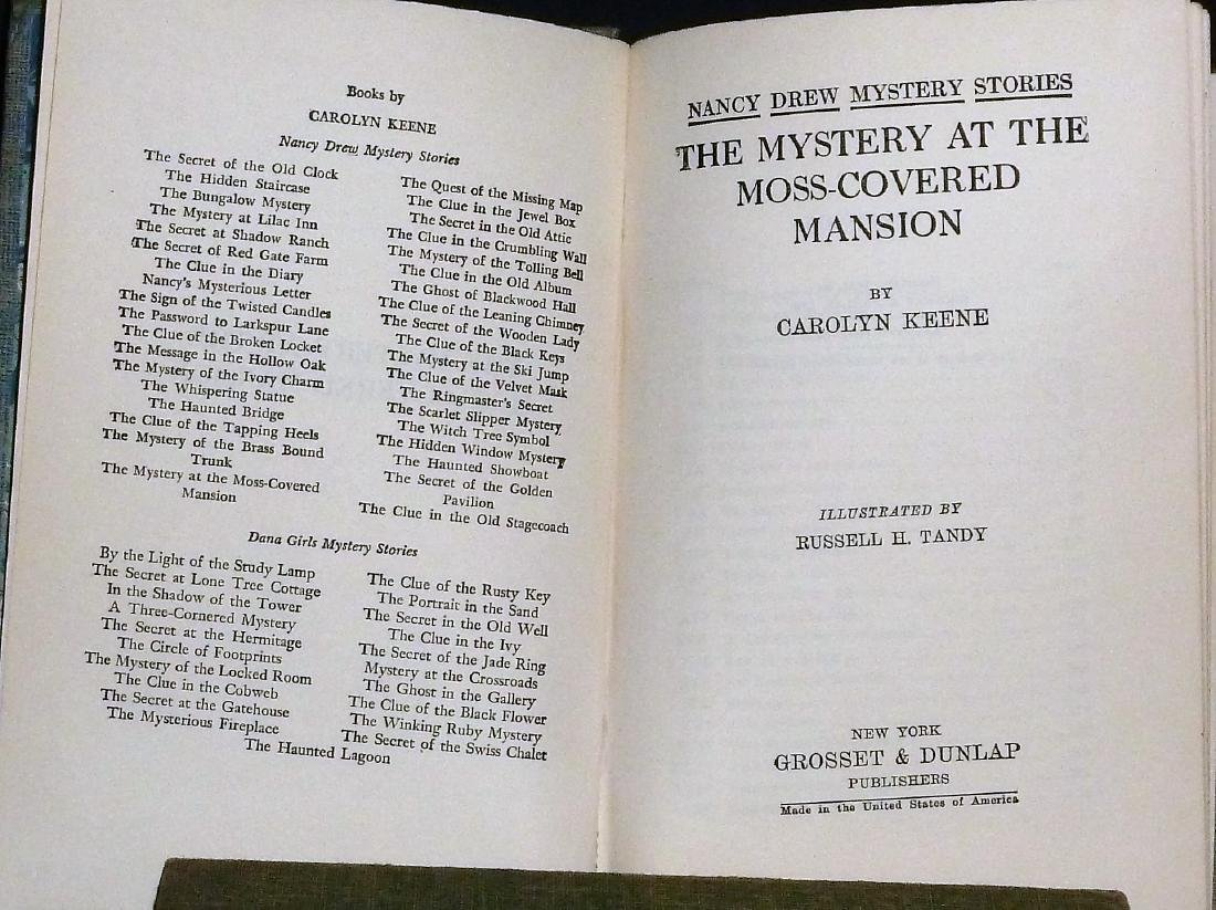 Nancy Drew And Dana Girls Set, 6 Volumes - 7