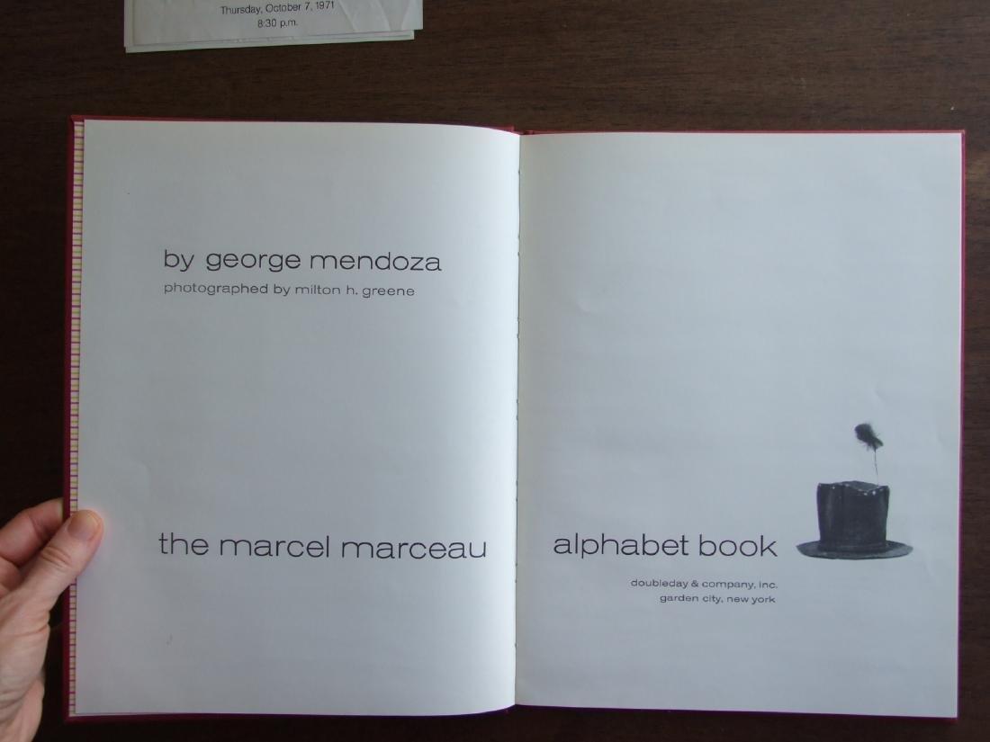 The Marcel Marceau Alphabet Book, Inscribed M. Marceau - 3