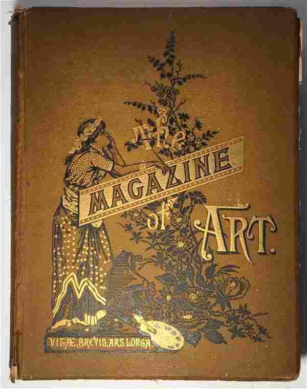 The Magazine Of Art, Volume V