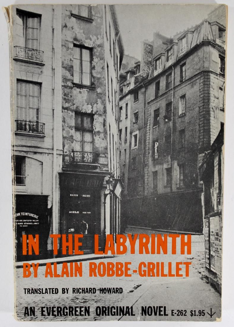 Robbe-Grillet: The Labyrinth, 1st Edition