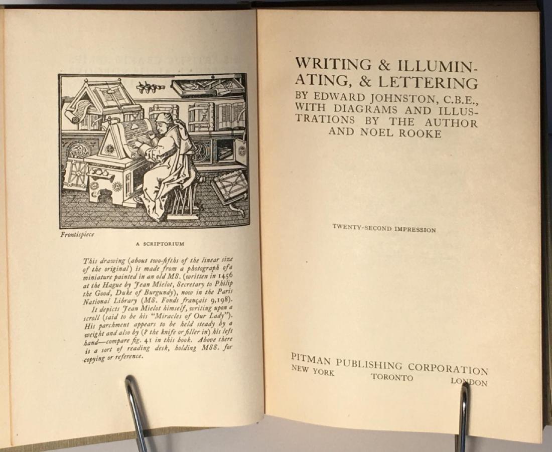 Writing & Illuminating & Lettering - 3