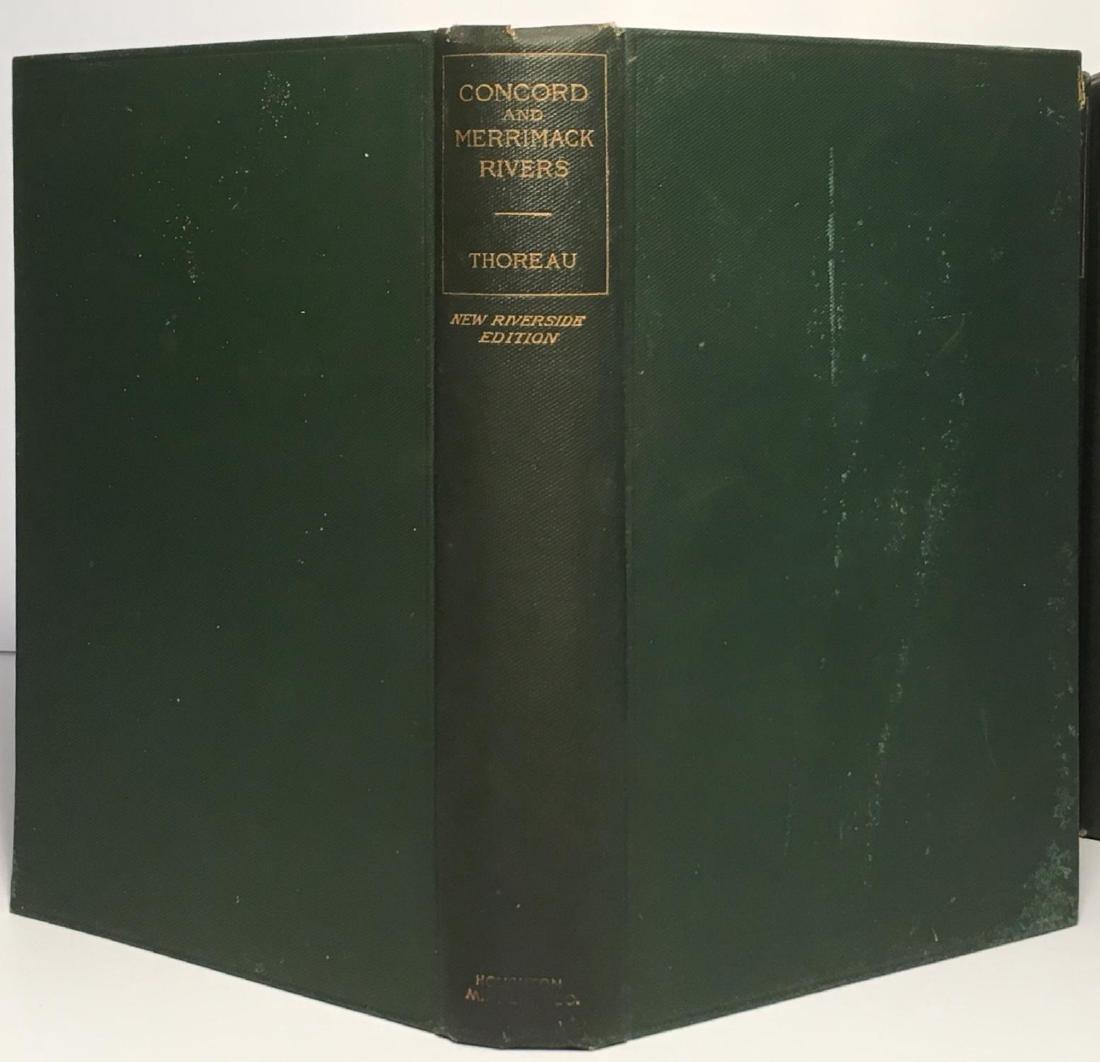 The Writings Of Henry David Thoreau - 2