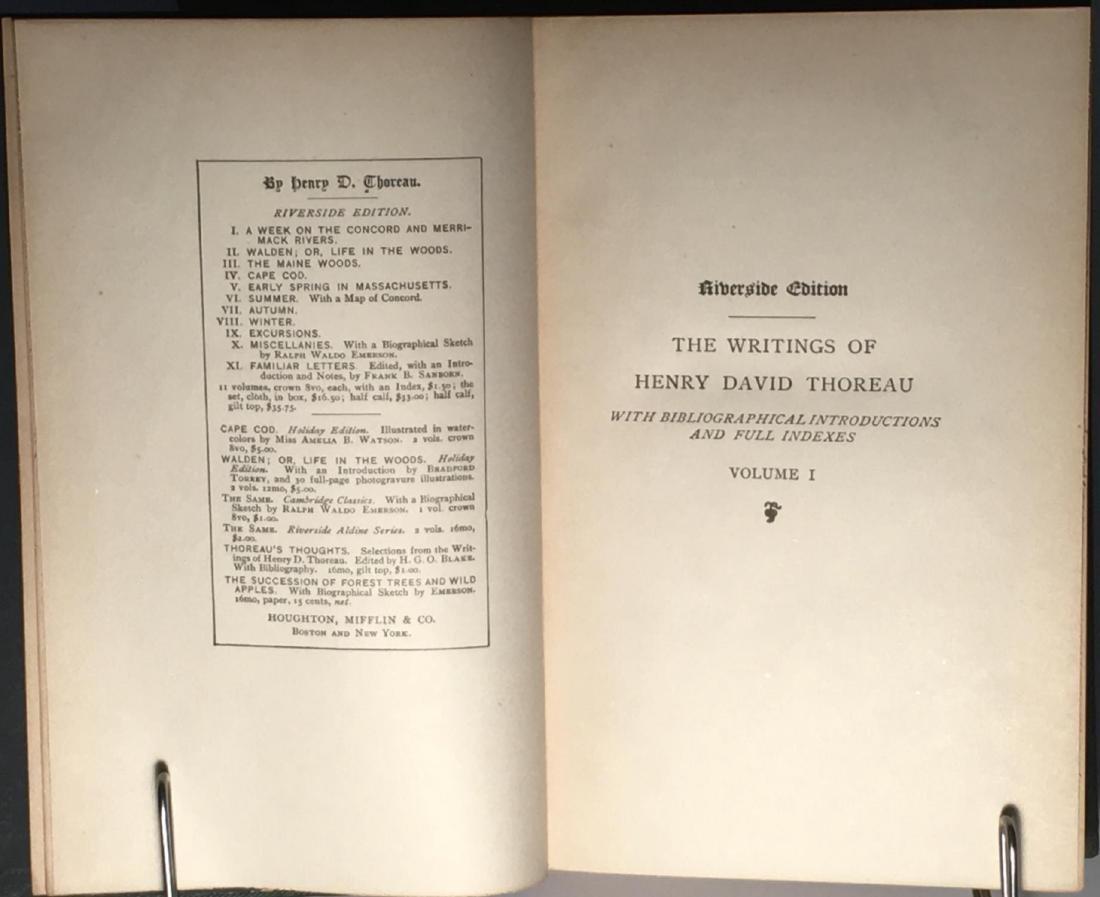 The Writings Of Henry David Thoreau - 3