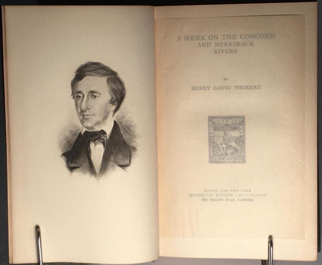 The Writings Of Henry David Thoreau - 4