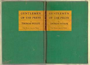 Gentlemen Of The Press (Play), 1st Edition