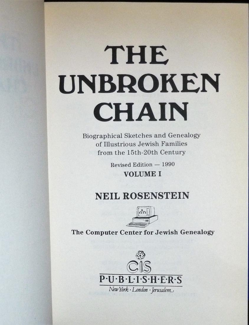 The Unbroken Chain - 2