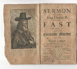 1705 A Sermon Preach'd Before King Charles Ii, The Fast