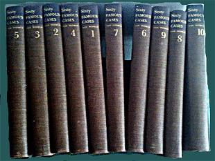 Sixty Famous Cases, 1st Edition