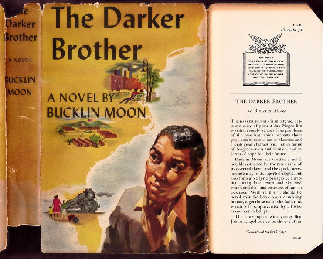 The Darker Brother, 1st Edition, Signed
