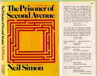 The Prisoner Of Second Avenue, 1st Edition, Signed