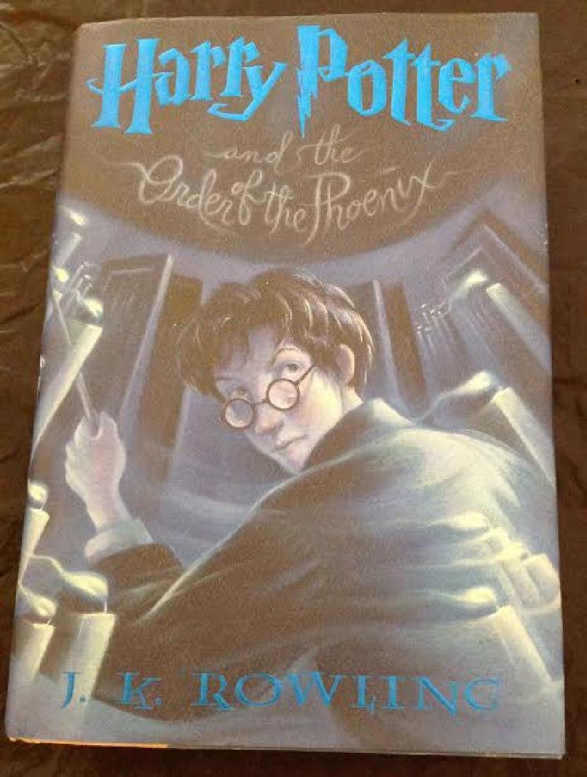 Harry Potter & Order Of Phoenix - HC, 1st Edition