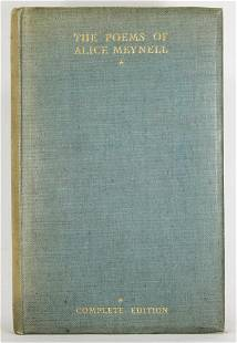 The Poems Of Alice Meynell, Limited Edition