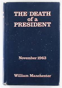 The Death Of A President, Signed