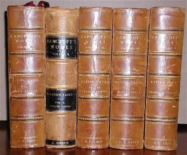 The Works Of Hubert Howe Bancroft, Complete In 5 Vols