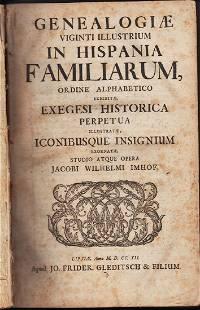 Genealogiae Viginti Illustrium In Hispania Familiarum