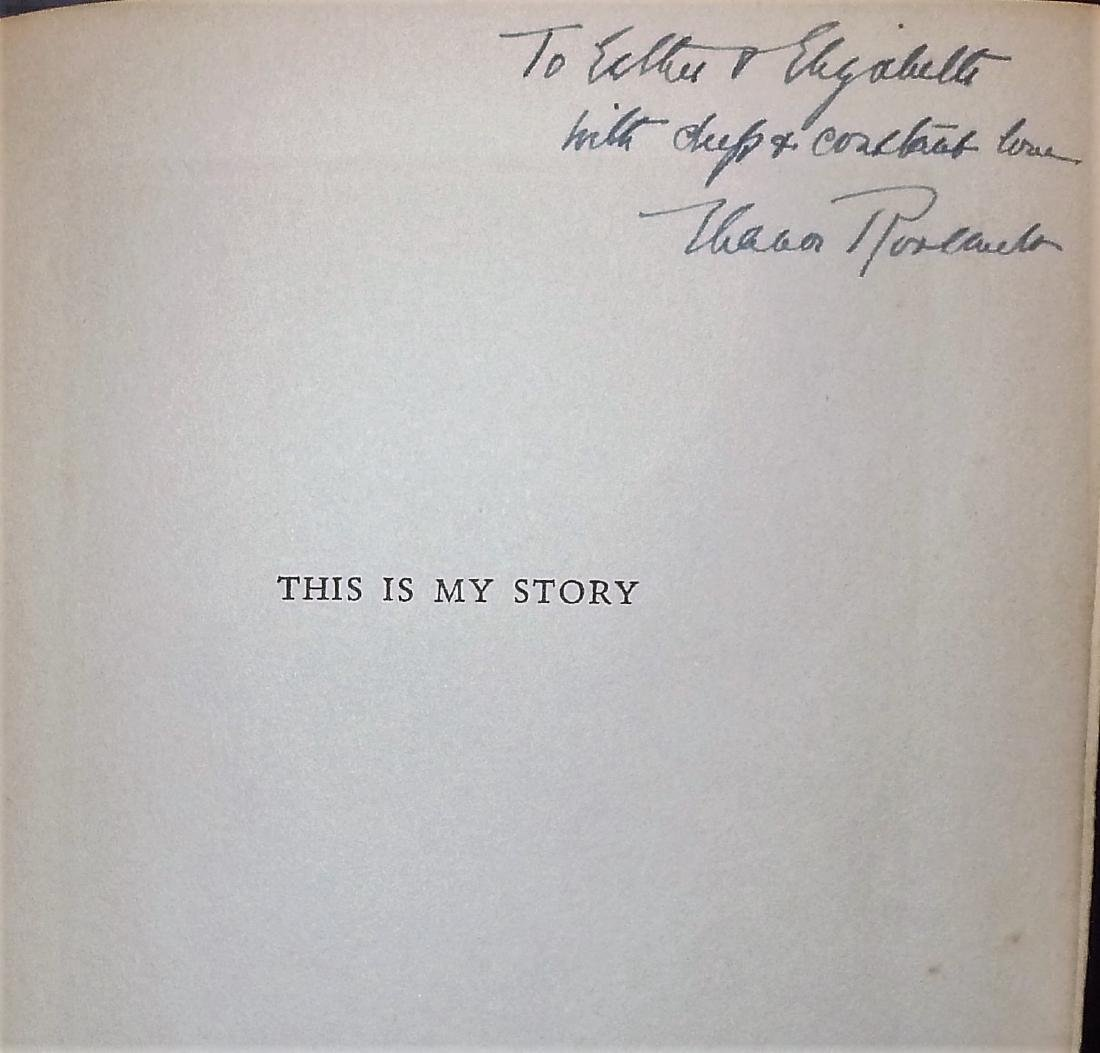 This Is My Story, Signed - 3